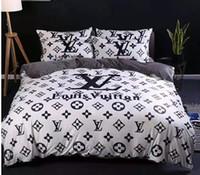 Wholesale velvet sheets resale online - Winter Warm Branded Velvet Bedding Sets Designer Comfortable Home Textiles Duvet Cover Pillowcase Bedding Sheet