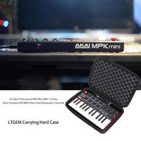 usb midi klavye toptan satış-LTGEM Sert Taşıma Çantası Akai Profesyonel MPK Mini MKII MPK Mini Oyun | 25-Key USB MIDI Davul Pad Klavye Denetleyicisi