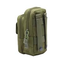 taktik torba toptan satış-Naylon Taktik Molle Bel Paketi Araçları Yardımcı Sundries Kılıfı Ekipmanları Paketleri Çanta Açık Çanta
