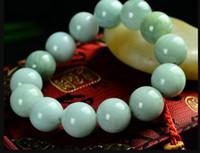Wholesale 14mm copper beads resale online - bracelet Genuine jade beads bracelet mm natural a jade bracelets Mens