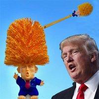 ingrosso bush case-Creativo Trump Toilet Bush Casa di plastica Servizi di pulizia di servizi igienici Forniture divertenti pennelli Strumenti di vendita calda
