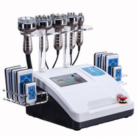 equipamento de beleza de cavitação ultra-sônica venda por atacado-A pele ultra-sônica do RF do vácuo da máquina do emagrecimento do lipo da freqüência da cavitação aperta o equipamento da beleza