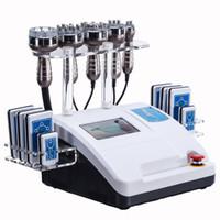 lipo kavitationsmaschinen groihandel-Ultraschall Kavitation Frequenz Lipo Abnehmen Maschine Vakuum RF Haut straffen Schönheit Ausrüstung