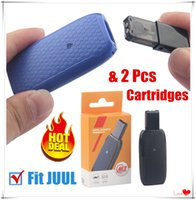Wholesale oil for e cig cartridges for sale - Group buy Authentic New Portable MK II Pods Kit Thick Oil Empty Cartridges mAh Battery Vapor for JUUL Vaporizer PK COCO SMOKING Disposable E Cig