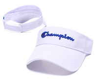 Wholesale uv sun visors women resale online - Champions Designer Baseball Caps Letters Embroidery Men Women Sports Hats Adjustable UV Sun Protection Visor Cap Beach Golf Tennis HatB62803