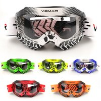 Wholesale riding glasses for men resale online - VEMAR Motorcycle Goggles Windproof Anti UV Cycling Goggles Riding Off road MX Protective Glass Mountain Bike Kids Youth Boy Girl For KTM