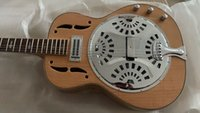 Wholesale dobro guitar for sale - Group buy New Arrival Natural Flame Dobro Electric Guitar High Quality Guitars HOT