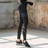 Wholesale yoga pants models for sale - Group buy new explosion models ladies yoga pants outdoor sports professional stretch quick drying fitness pants hips tight breathable yoga62