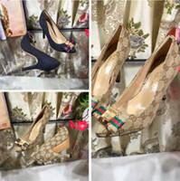 chaussures de promotion talons hauts achat en gros de-Mode talons hauts top sandales de luxe designer classique vente chaude chaussures pour femmes 35-41 fabricants promotions livraison gratuite