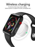 ingrosso orologi dello specchio a specchio-Nuovo Goophone Watch I2SPRO 1.54 pollici HD Touch Screen specchio zaffiro senza fili di ricarica MTK2502C 350mAh batteria per smartphone Android iOS