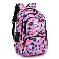 Wholesale backpacks for boys resale online - New Fashion School Backpacks For Girls Kids Elementary School Bags For Boys Students Bookbag Children Sac A Dos