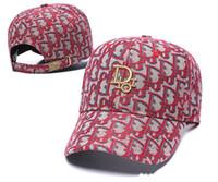 Wholesale fashion designer hats resale online - New Top Quality Colour Bonnet Designer Dior Hats Caps Men Women Baseball Cap Wild Casual Ins Fashion Hip Hop Cap