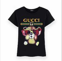 tiger t-shirts großhandel-2019 mode italien luxus tiger druck t-shirts frauen medusa t-shirts casual t-shirt tops männer 3d designer tshirts
