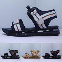 Wholesale tpr sole sandals resale online - Mens Sport Sandals Shoes Designers c Sole Anti slipping Quick drying Classic Outdoor Slippers Soft Water Trainer Shoes