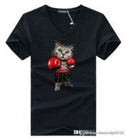 homens quentes v camisetas venda por atacado-Camisas Designer de homens T Camisas Homens Tshirt Mistura de Algodão Quente de Manga Curta Casual T-shirt T-shirt para Designer de Camisetas de Luxo Camisa