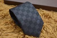 ingrosso modelli di stampa in poliestere-Cravatte modello di lusso da uomo 8 cm per cravatte sottili da uomo Designer di marca Cravatta in poliestere jacquard Cravatta stretta Cravatte strette con scatola