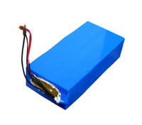 Wholesale charger for ebike resale online - 600W V Ah PVC Rack Scooter Ebike battery for electric bike scooter rechargeable lithium battery send A Charger free ship no tax