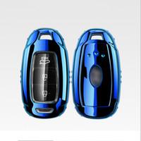 hyundai araba uzaktan kumandaları toptan satış-Patent TPU Araba Oto Uzaktan Anahtar Kılıfı Kabuk Hyundai LA FESTA IX35 için Araba Aksesuarları Styling Moda