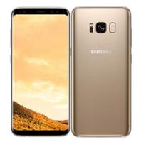 téléphone utilise sim achat en gros de-Téléphone Portable Débloqué Original Samsung Galaxy S8 G950U 4GB / 64GB 5.8