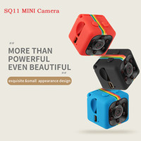 nuit de caméra achat en gros de-HOT SQ11 Mini caméra HD 1080P Night Vision Caméscope DVR enregistreur vidéo infrarouge Sport Support appareil photo numérique Carte TF