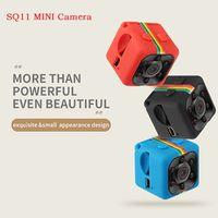 kızılötesi gece görüşü hd dvr toptan satış-SICAK SQ11 Mini Kamera HD 1080P Gece Görüş Kamera Araba DVR Kızılötesi Video Kaydedici Spor Dijital Kamera Destek TF Kart
