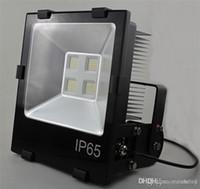 luz de inundación llevada al aire libre bridgelux al por mayor-Focos LED Focos industriales para exteriores IP65 50W / 70W / 100W / 120W / 150W / 200W para la instalación de luces industriales LED para exteriores cuadradas LED