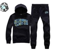 ingrosso billionaire boys club pants-Nuova tuta hip hop fashion track BILLIONAIRE BOYS CLUB tuta sportiva da jogging maschile + pantaloni