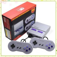 Wholesale super games free for sale - Group buy Super Classic SFC TV Handheld Mini Game Consoles Newest Entertainment System For SFC NES SNES Games Console Drop Shipping free DHL MQ20