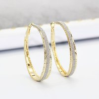 Wholesale new copper earring for sale - 10pair New product Unique Women Fashion Mill sand Earrings Engagement Wedding Jewerly Ms Gift color