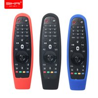 Wholesale remote case covers resale online - LG AN MR600 AN MR650 AN MR18BA Magic Remote Control Cases SIKAI for smart OLED TV Protective Silicone Covers