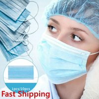 Wholesale dental disposables resale online - Fast day Disposable Anti dust Safe and Breathable Face Mask Dental Mask Dust Ear Loop Face Mouth Masks Respirator Ply Safety Mask