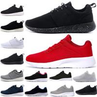 ecddc03c7c Hot comprar um obter um Run Running Shoes homens mulheres preto baixo Leve  Respirável Londres Esportes Olímpicos Tênis mens Formadores tamanho 36-45