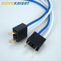 2PCS H7 2 Pins Headlight Repair Bulb Holder Connector Plug Wire Socket GX