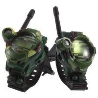 multi-walkie großhandel-Camouflage Walkie Talkie Spielzeug für Kinder Multifunktionale Armbanduhr Funkgeräte Spielzeug Kompass Lupe Reflektor
