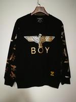 camisola dos homens londres do menino venda por atacado-Algodão Menino London Hoodies Dos Homens E Camisolas Da Marca de Manga Longa Sportwear Roupas de Inverno Outono Fina Casaco de Moda Preto Homens Camisola