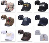 schöne hüte großhandel-Aktionspreis Designer Baseballmützen Street Headwear Stilvolle Baseballmützen Box Logo Cap Luxus Herren Hüte Kanada Nizza Hysteresenkappen DF13G03