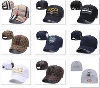 ingrosso cappelli da baseball alla moda-Cappellini da baseball di tendenza del progettista di prezzi del progettista di promozione Cappelli eleganti di baseball dei cappelli della scatola di logo Cappelli mens di lusso Cappelli di Snapback piacevoli del Canada DF13G03