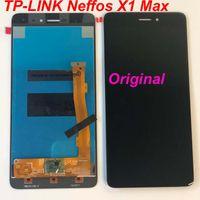 ingrosso schermi lcd di ricambio del telefono cellulare-Display originale per TP-LINK Neffos X1 Max TP903A TP903C LCD Touch Screen Digitizer Assembly Riparazione riparazione del telefono mobile