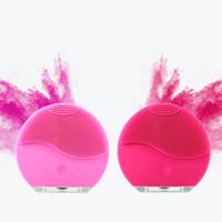 ferramentas da bateria da china venda por atacado-Instrumento de limpeza Pincel de Limpeza Facial Sonic Cleansins Rosto de Limpeza Da Pele Nível Médico de Silicone À Prova D 'Água Acessórios de Cuidados Da Pele Acessórios