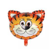 bola de pescado inflable al por mayor-Animal Foil Globos Fiesta de cumpleaños Decoraciones Niños Océano Bolas de pescado Juguetes inflables Baby Shower Bolas de fiesta de animales