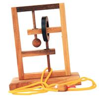 трехмерный пазл оптовых-Оптовая Трехмерное Пространство Решение Веревка Мозг Пазлы для Детей Взрослых IQ Mind Toys