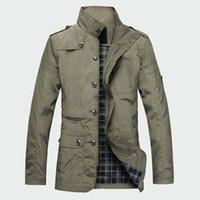 koreanische jacken verkaufen großhandel-Mode Dünne herren Jacken Heißer Verkauf Freizeitkleidung Korean Comfort Windjacke Herbst Mantel Notwendig Frühling Männer Mantel M-5xl Ml091 T190817