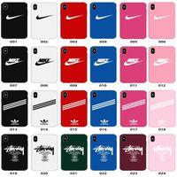 iphone5 telefon fälle großhandel-Für iphonexsmax xr x trend handy case multicolor mischen matt pc hard phone cases für iphone5 5 s se 6 6 s 8 plus