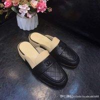 new slippers for winter 도매-베스트 셀러 이탈리아 가죽 바닥 새로운 가을, 겨울 캐주얼 신발 안감 양 가죽 편안한 통기성 둥근 머리 슬리퍼