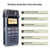 Wholesale voice recorder microphone resale online - Voice Recorder Microphone A B Repeat Interviews USB Charging Mini Portable MP3 Player Sound Audio Digital Conferences Dictaphone