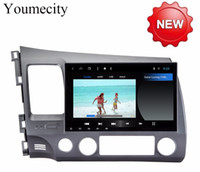 Wholesale honda civic cars dvd resale online - Youmecity Android DIN Octa Core Car dvd Video GPS For Honda Civic Acura CSX Capacitive screen wifi G RAM