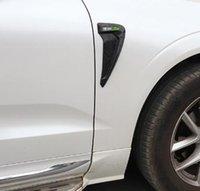 autotüren streifen großhandel-Auto styling Tür anti-kollisionsstreifen dekoration aufkleber zubehör für 18-19 XC60 XC90 Fender Stoßstange streifen 2 teile / satz