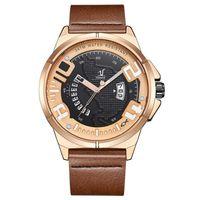 Wholesale weide quartz brands watch resale online - WEIDE UV1802 fashion brand men s trend cool leather watches high end quartz movement M waterproof and waterproof watch