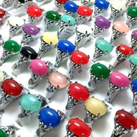 Wholesale clear stone rings for sale - Group buy 50pcs Women s Silver Stone Colorful Clear Stone Ring Ladies Elegant Beautiful Rhinestone Ring Girls Vintage Charm Party Jewelry Gifts