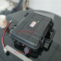 golf arabası ışıkları toptan satış-12 V 100AH güneş ışığı Golf Arabası UPS ile Lityum iyon Pil Paketi şarj